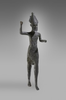 Statuette des Gottes Reschef. Foto: David Gowers, Ashmolean Museum, University of Oxford